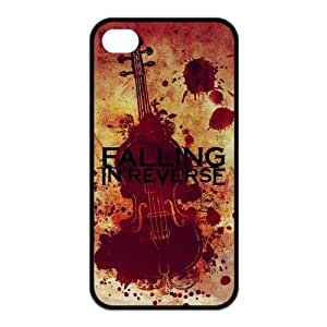 Falling In Reverse Pattern Design Solid Rubber Customized Cover Case for iPhone 4 4s 4s-linda161