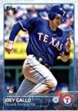 2015 Topps Update #US103 Joey Gallo Baseball Rookie Card in Protective Display Case