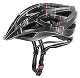 Uvex Xenova Cc Bicycle Helmet 52-57 Black Black-Pink-Green Mat