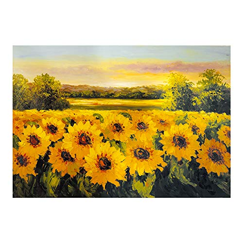 Dylan's cabin DIY 5D Diamond Painting Kits for Adults,Full Drill Embroidery Paint with Diamond for Home Wall Decor?sunflower/16x12inch)