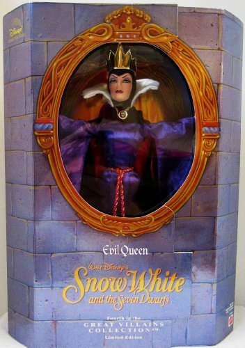 Great Villians Collection: Evil Queen From Snow White By Walt Disney -
