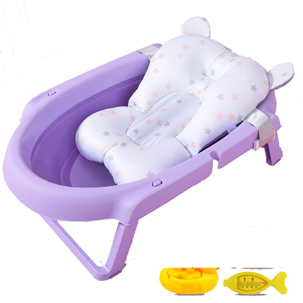 AA-SS-X Baby folding tub baby tub children can sit lie universal multifunctional newborn supplies
