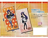 (Jump Chara) Medaka Box Tapestry (whole set of 2) black hair Medaka Medaka maid (scraping down illustration)