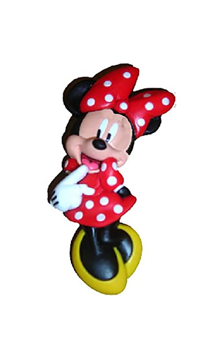 Disney Minnie Mouse Red Dress 2D - Imán de goma para nevera ...
