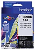 Office Products : Brother Printer LC209BK Super High Yield Ink Cartridge, Black