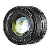 Neewer 35mm F1.2 Large Aperture Prime APS-C Aluminum Lens for Sony E Mount Mirrorless Cameras A7III, A9,NEX 3,3N,5,NEX 5T,NEX 5R,NEX 6,7,A5000,A5100,A6000,A6100,A6300,A6500