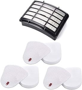 3 Pack Filters for Shark Navigator Lift-Away NV350, NV351, NV352, NV355, NV360, NV370, UV440, UV490, UV540 Vacuum- XFF350 XHF350