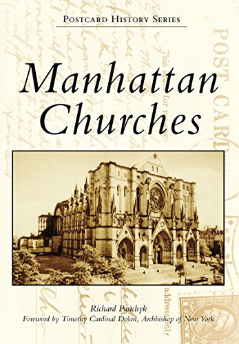 Manhattan Churches (Postcard History Series)