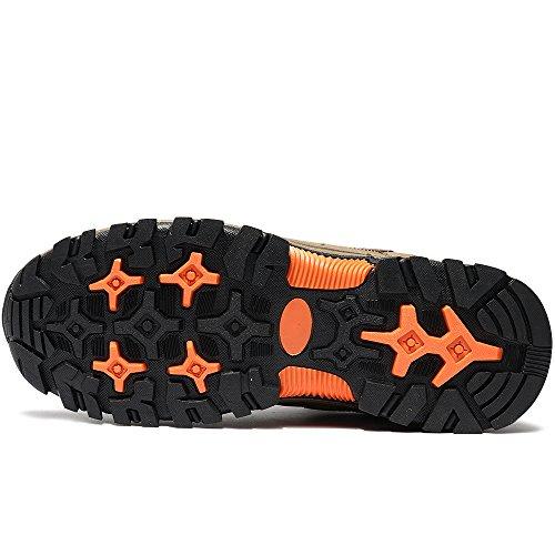 Neve Vilocy Scarpe Escursionismo Cachi La Linea Sneaker Stivali Sportivo Pelliccia Pelliccia Impermeabile Uomo All'aperto q4xwzg4
