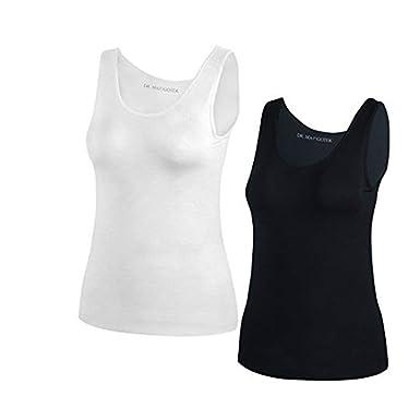 26311866d2fdc1 DR. MAGOTEK Camisoles for Women with Built-in Shelf Bras ...