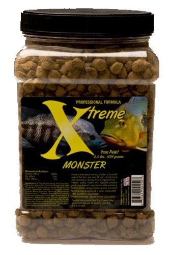 (Xtreme Aquatic Foods 2152-F Monster Pellet Fish Food)