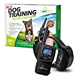 Training Dog Collar - Pettech PT0X1 Premium Dog Training Shock Collar, Fully Waterproof, 1000ft Range