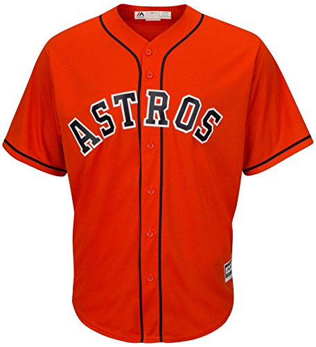 Houston Astros Alternate Orange Cool Base Men's Jersey (Medium)