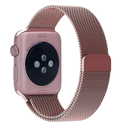 Been5le Milanese Stainless Replacement 38MM Rose product image