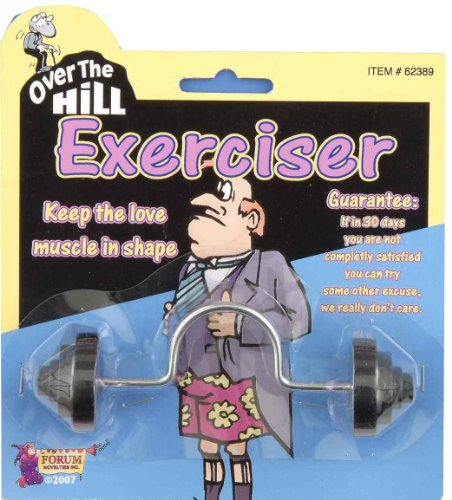 Forum Novelties Over The Hill Exerciser Gag -