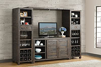 Vilo Home VH1604 Glenwood Pines Server/TV Stand Not Applicable, traditional