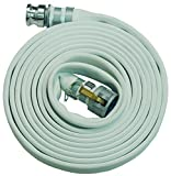 Dixon M20-25GAX Synthetic Mill Hose Assembly W/Global Aluminum Cam and Groove (C and E) Ends, 112 psi, 25' Length, 2'' ID