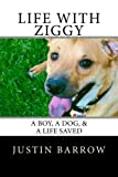 Life with Ziggy: a Boy, a Dog, and a Life Saved, Justin Barrow, 1493501208