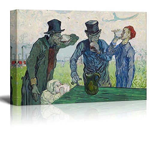 The Drinkers by Van Gogh Giclee ped Gallery