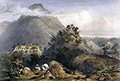 Mexico: Uxmal, 1844. /Narchway, Casa Del Gobernador At The Mayan Ruins Of Uxmal, Yucatan, Mexico. Lithograph By Frederick Catherwood, London, 1844. is a licensed reproduction that was printed on Premium Heavy Stock Paper which captures all of...
