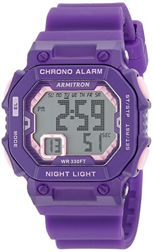 Armitron 45 7060PUR Accented Chronograph product image