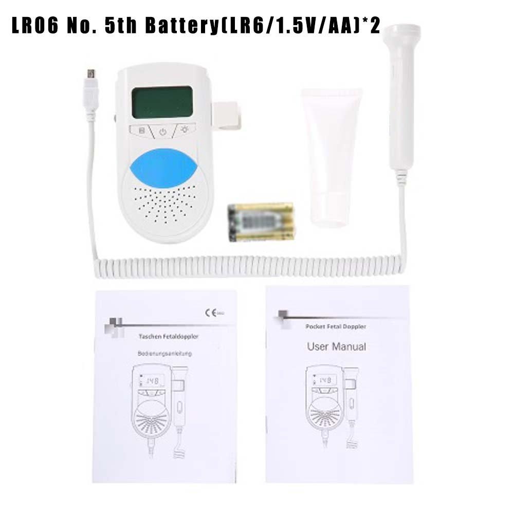 LOVOE Detector de Corazón para bebé, ultrasonido, Monitor de Ritmo Cardíaco: Amazon.es: Hogar