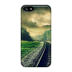 Hot Tpu Cover Case For Iphone/ 5/5s Case Cover Skin - Leaving