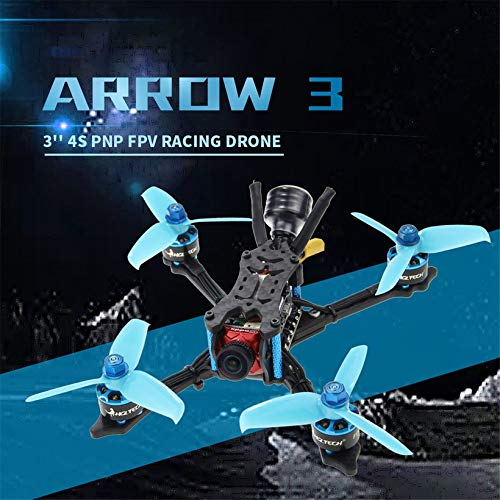 Wikiwand HGLRC Arrow 3 FPV Racing Drone 4S BNF Quadcopters with Flysky A8S V2 Receiver by Wikiwand (Image #6)