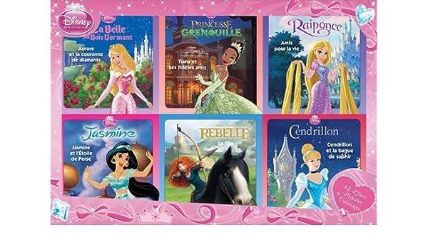 Coffret Disney Princesses 12 Livres Histoires