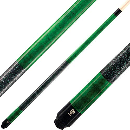 20oz - McDermott Cues - Standard Stain - Emerald Green
