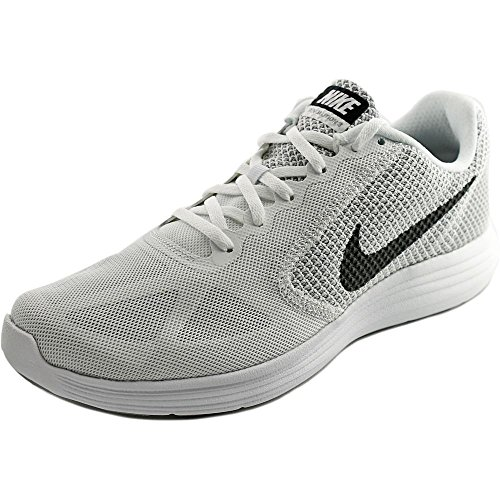 White Men's Revolution Wolf Grey Black NIKE Running Shoe 3 q7TgxvvwX