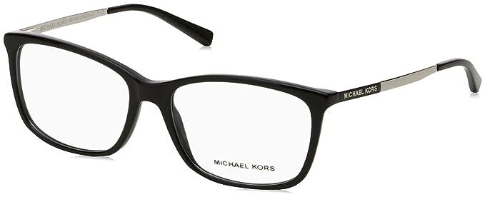 Michael Kors Vivianna II, Gafas de Sol para Mujer, Black, 54