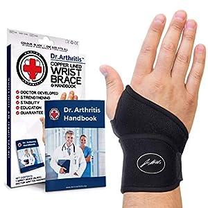 תחבושת לתמיכה חזקה במפרק כף היד - להקלה משופרת בכאב