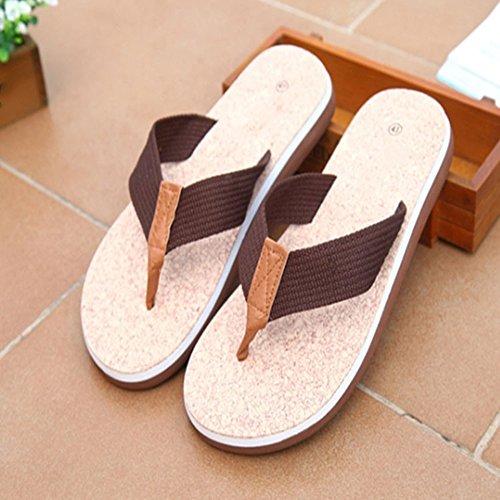 playa la caminar Braun de transpirable de del hombres sandalias de verano los unisex muchacho malla Zapatos de Zuecos antideslizantes Verano de zapatillas Aqua sandalia estorbo Scothen Jardín para UEcAZxpq1O