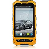 Hipipooo 4 Inch IP68 Waterproof 3G Rugged Android 4.4.2 Smartphone 1.2GHz Quad Core Dual Sim Dustproof Shockproof Capacitive Screen GPS 5MP Supporting NFC