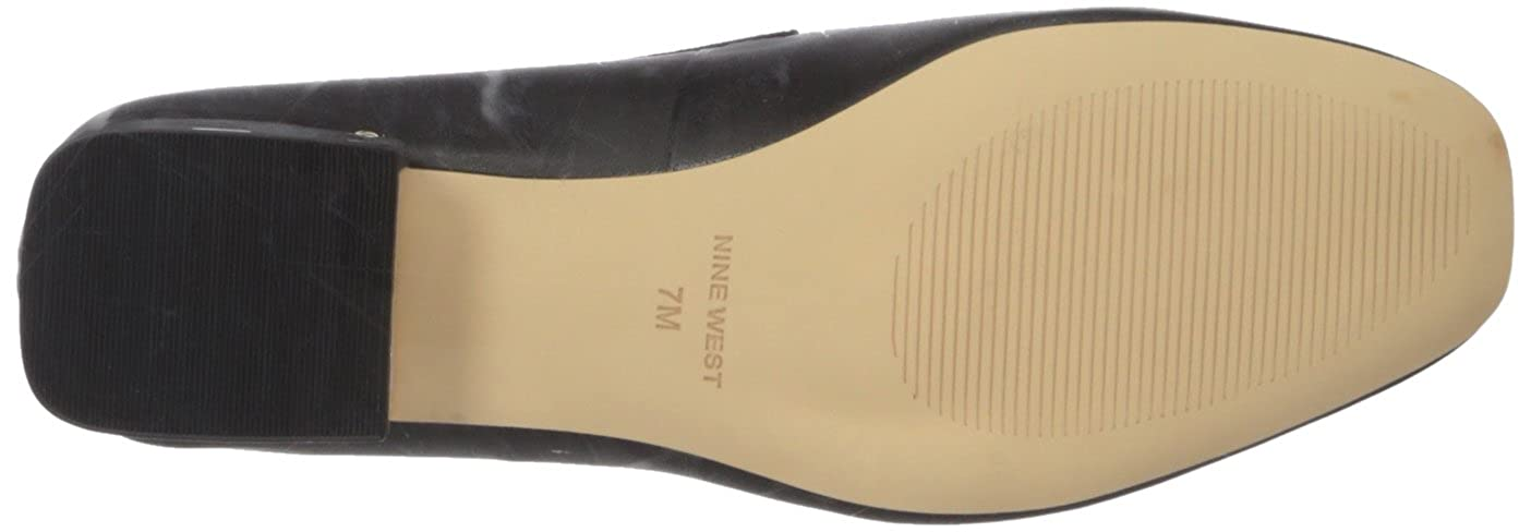 Nine West Womens UMISSIT Leather Driving Style Loafer