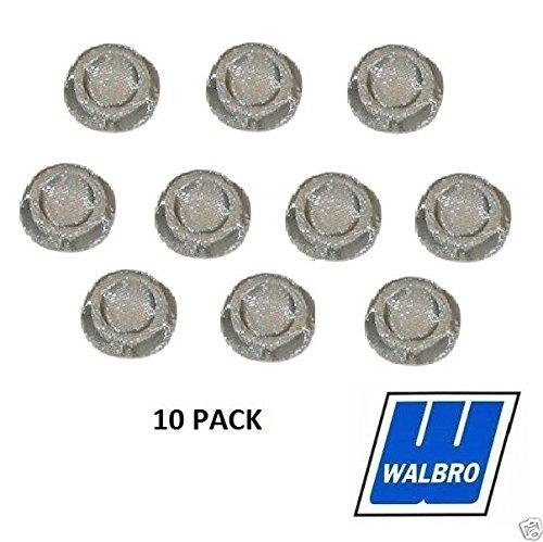 Walbro 10 Pack Genuine 140-71-8 Carburetor Screen 1/4