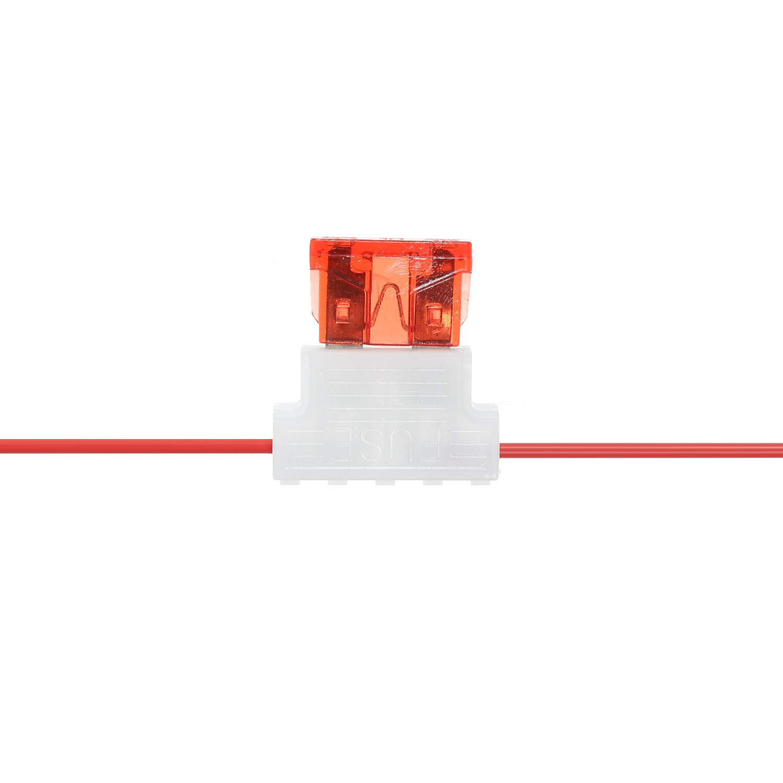 Ajcoflt Rel/è Interruttore DRL 12V Interruttore accensione//spegnimento Automatico luci di Marcia Diurna a LED