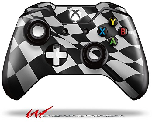 Checkered Racing Flag - Decal Style Skin fits Microsoft XBOX One Wireless Controller (CONTROLLER NOT INCLUDED)