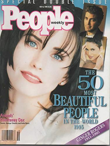 People Weekly Magazine - 8 May 1995 - 'The 50 Most Beautiful People in the World 1995' - Special Double Issue - Courtney Cox Cover