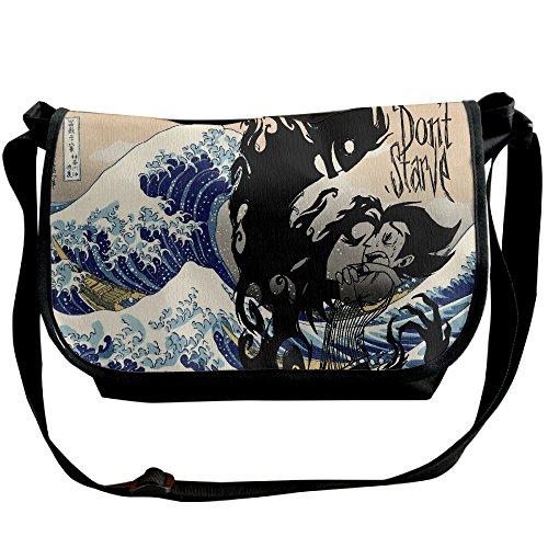Do Not Starve Shadow Ego Durable Messenger Bag Shoulder Bag Cross Body One Size Black