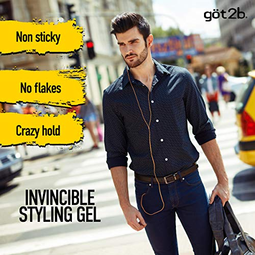 Got2b Ultra Glued Invincible Styling Hair Gel, 6 Ounce 4