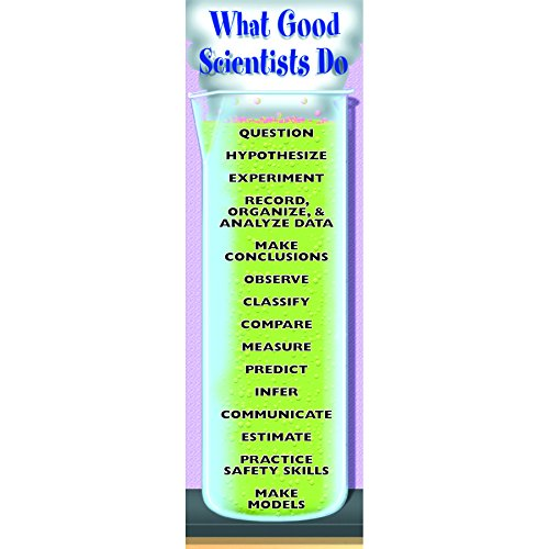 Good Behavior Posters (McDonald Publishing MC-V1636 What Good Scientists Do Colossal Concept Poster, 18.19