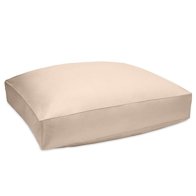 Amazon.com: DOWNLITE 36 Inch Floor Cushion Pillow Covers ...