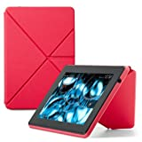"Amazon Kindle Fire HD Standing Polyurethane Origami Case (will only fit All New Kindle Fire HD 7""), Pink"