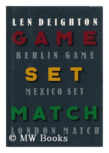 Game, Set & Match (Berlin Game, Mexico Set, London Match) (Match Set Game)