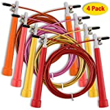 Deals That Smile Weighted Speed Jump Rope Workout Ropes - Crossfit Skipping Speed