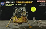 Dragon 1:72 Apollo 11 Lunar Landing SCM Columbia LM Eagle Astronauts Kit #11002