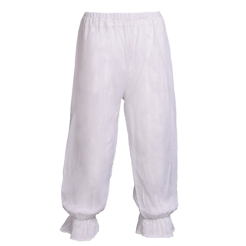 BLESSUME Victorian Lady Pantaloons Wthie Bloomers (Wasit: About 54-96cm/21-37.5'')