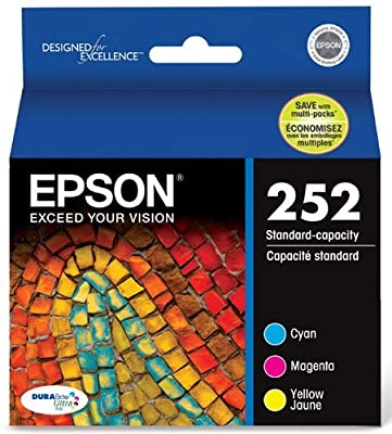 Epson T252520 DURABrite Ultra Standard-Capacity Color Ink Cartridge, Multipack from EpsoN